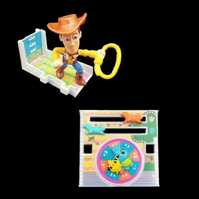 Toy Story 4 McDONALD 2019 HAPPY MEAL TOYS Woody's Balloon Boom #5 #8 Loose