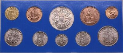 Great Britain 1953 Unofficial Uncirculated Mint Coin Set Elizabeth II UNC