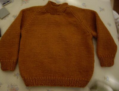 Order !!!!!!!!     Knit Only Jumper  Wool Supplied