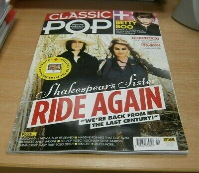 Classic Pop magazine #54 JUL 2019 Shakespears Sister, Betty Boo, Madonna & more