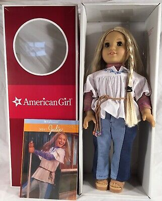 Retired American Girl Julie Albright Doll~Box~Unopened Book~Meet Outfit~NICE!!!