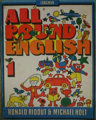 Holt, Michael,Ridout, Ronald, All Round English: Book 1, Paperback, Very Good Bo