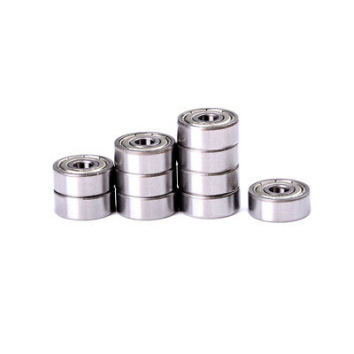 10pcs 4x13x5mm Micro Mini roulements à billes de roue blindés 624Z haute qualLTA
