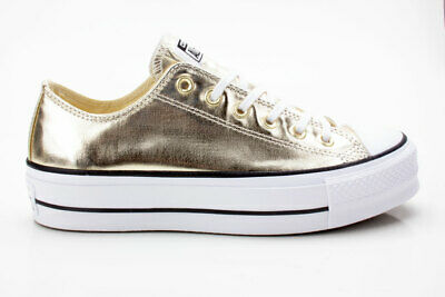 CONVERSE CHUCK TAYLOR All Star CTAS Lift Ox 560249C gold