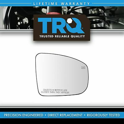Exterior Power Heated Mirror Black Smooth LH Driver Side for Kia Forte