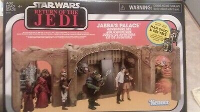 Star Wars Jabba's Palace Adventure Playset The Vintage Collection Tvc Hutt Set