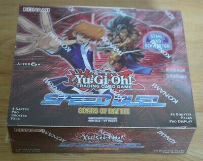 Yu-Gi-Oh! Speed Duel Scars of Battle 36 Booster Display Deutsch 1. Auflage