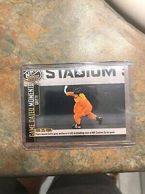 Upper Deck Game Dated Moments #64 Streaking Gritty Young Guns Gritty