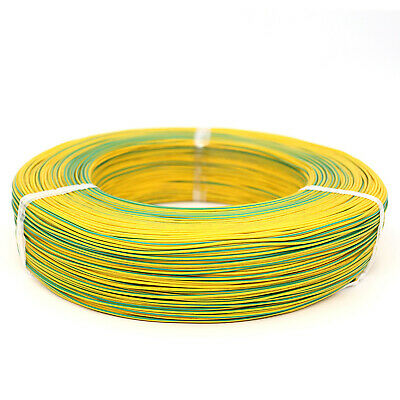 16~26AWG Equipment Wire Electrical Wire Flexible Cable DIY UL1007 Yellow Green
