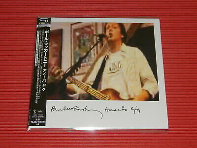 2019 Remaster Paul Mccartney Ameoba Gig Japan Only Mini Lp Shm Cd