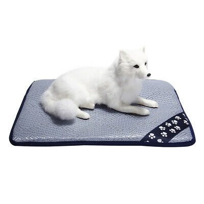 S/M 48cm 70cm Pet Dog Puppy Cat Bed Cooling Pad Mat Cushion Summer Chilly