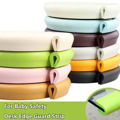2m Baby Safety Corner Desk Edge Bumper Protection Cover Protector Table Cushion