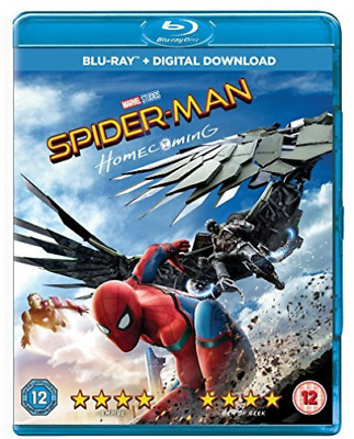 Spider-Man Homecoming Bl DVD NEW