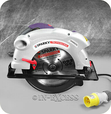 """Sparky Professional Tools 235mm/9"""" Circular Saw With Blade TK 85 1700W - 110V"""