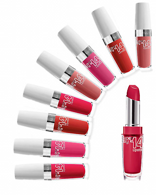 Maybelline New York Superstay 14HR Lipstick (Choose from 10 Shades)