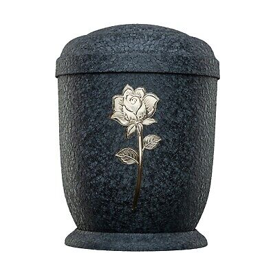 Urns for Ashes Adult Large Cremation Funeral Human Remains Memorial Rose Metal