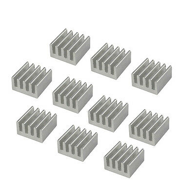 20pcs Aluminum Heat Sink for StepStick A4988 IC 8.8*8.8*5mm_WKLTA
