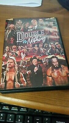 All Elite Wrestling Double Or Nothing AEW Wrestling Show 2 Disc Edition !