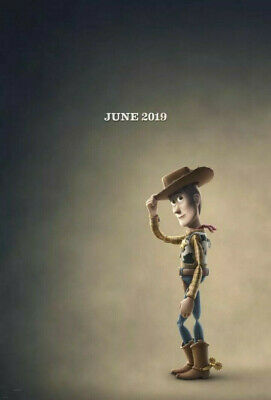 Toy Story 4 - original DS movie poster 27x40 D/S Advance - 2019 Woody Pixar