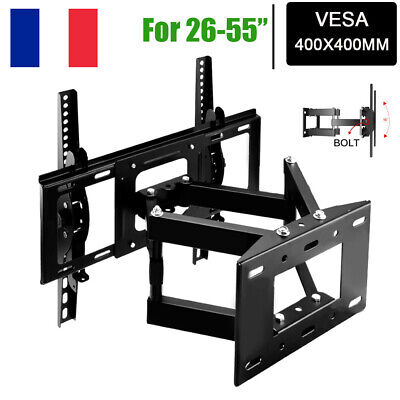 """Support TV mural orientable inclinable LED Plasma 26""""- 55"""" 26 32 40 42 46 52 55"""
