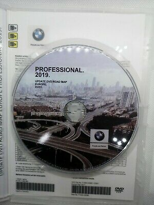 BMW Navigation Navi Road Map Europe PROFESSIONAL 2019 +Blitzer Edition DVD1 MAP1