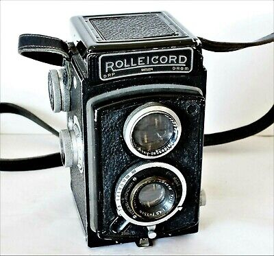 Rolleicord Ia Model 3 1947 With Rolleikin 35mm Adapter Fitted