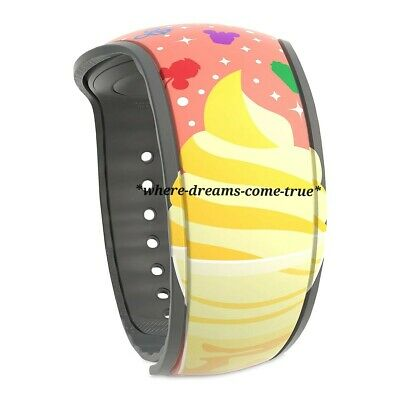 Disney Parks Magic Band 2 Citrus Swirl Dole Whip and food icons (NEW)