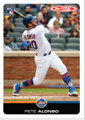 2019 Topps Total - WAVE 3 SINGLES #s 201-300 IN HAND - U Pick From List