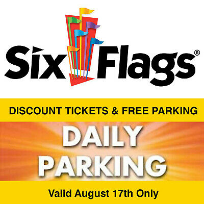 Aug 17 - $61 Off Discount for Six Flags The Great Escape Tickets & Free Parking