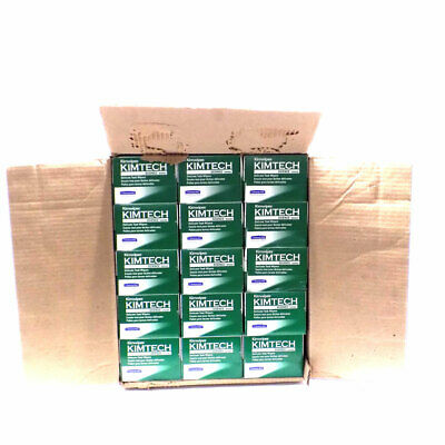 "15 Boxes (120 ea) NEW Kimberly-Clark 34256 Kimwipes Delicate Wipes 14.7"" x 16.6"""