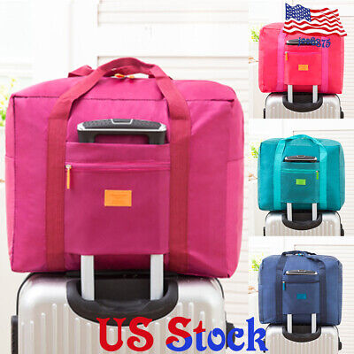 Portable Foldable Travel Luggage Carry-On Duffle Baggage Waterpoof Storage Bag