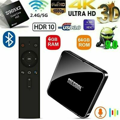 MECOOL KM3 Smart Android 9.0 TV Box Lecteur multimédia 4 Go/64 Go Amlogic S905X2