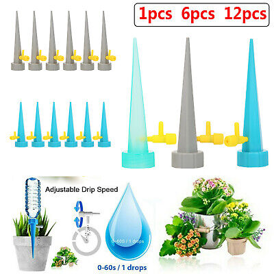 12pcs Automatic Watering Spikes System for Indoor Plant Bottle Drip Irrigation