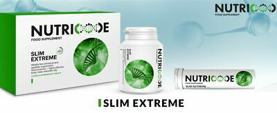 """SLIM EXTREME Nutricode - """"Gastric Band In A Pill"""" - 30 Days 1 Month Programme"""
