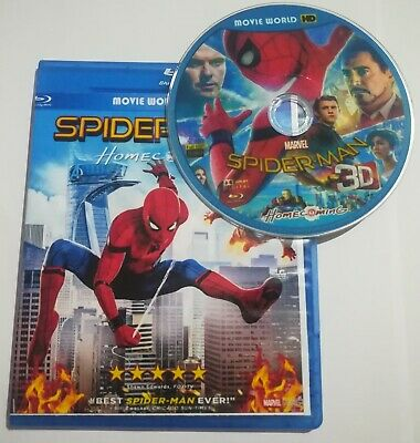Spider-Man: Homecoming 3D Blu-ray Region Free+Free shipping