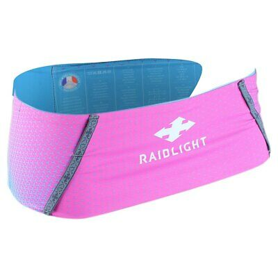 Raidlight Stretch Raider Azul|Rosa T55641/ Riñoneras Unisex Azul|Rosa Raidlight