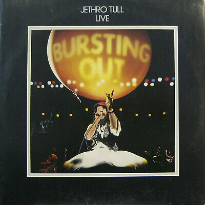 "JETHRO TULL ""BURSTING OUT""  2 lp Germany embossed cover mint"