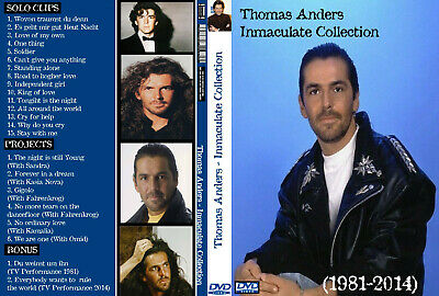 Thomas Anders - Inmaculate Collection (1981-2014) DVD FAN EDITION-Modern Talking