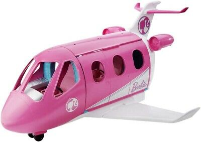 New Kids Girls Barbie Travel Dream Plane Jet Playset 2019 Toy With Accessories