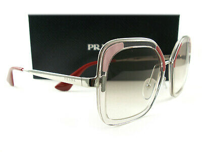 Silver 1l0 0pr Authentic Loh Prada Spr57u Pink Sunglasses Red 57us 4j5RL3Aq