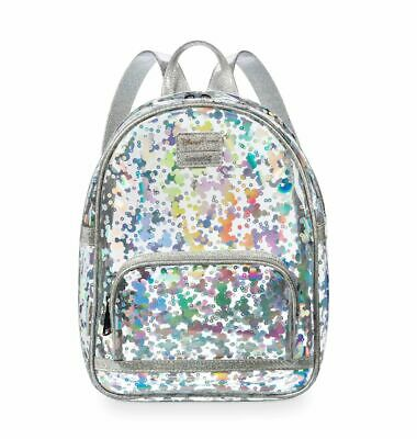 Disney Parks Magic Mirror Metallic Collection Mickey Mouse Backpack by Loungefly