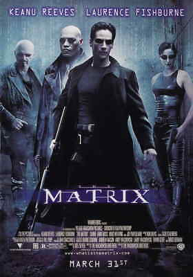 THE MATRIX Movie Poster   11x17   Licensed - New   Reeves, Fishburne (1999)