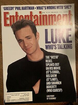 Luke Perry 90210 Entertainment Weekly Magazine March 11 1994 Pictures Articles