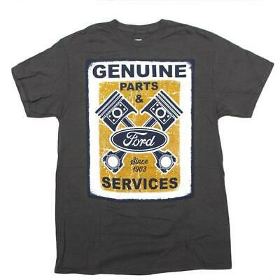 Genuine Ford Parts & Service Since 1903 Engine Gray T-Shirt