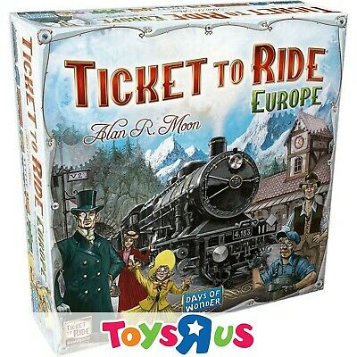 Ticket to Ride: Europe Game