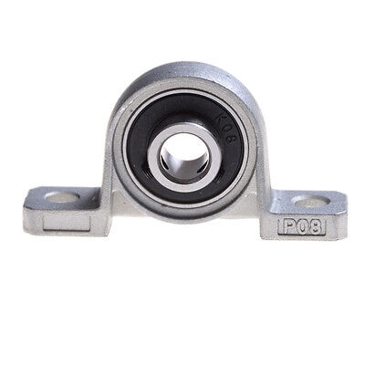 Zinc Alloy Diameter 8mm Bore Ball Bearing Pillow Block Mounted Support QYLTA