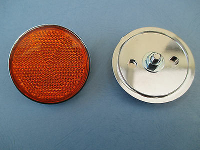 Suzuki Amber Side Reflector Reflectors For Gt & Gs Range Sold In Pairs