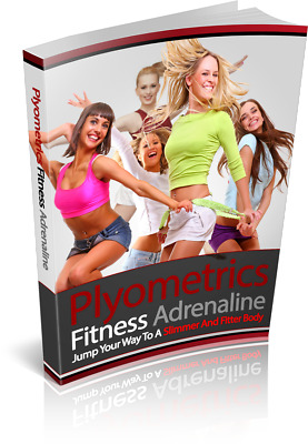 PDF eBook - Plyometrics Fitness Adrenaline with MRR Healthy Foods Young Girl