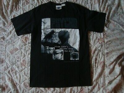 Vintage Alfred Hitchcock Psycho Universal Studios Horror Movie Tee Licensed 90s