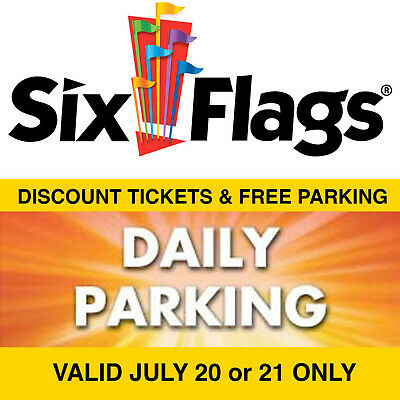 $66.18 Discount Six Flags Over Georgia Tickets & Free Parking Pass
